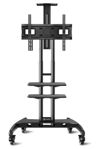 Mobile stand for TV with 2 shelves ONKRON TS1552