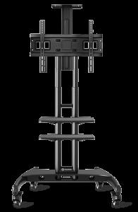 Мобильная стойка для телевизора с 2мя полками ONKRON TS1562