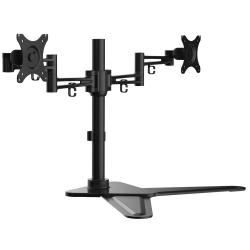 Desktop Dual Monitor Arm Mount KRON D222FS