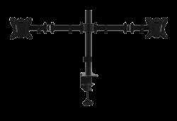 TABLE BRACKET FOR 2 MONITORS UDT07-C024 MasterKron black